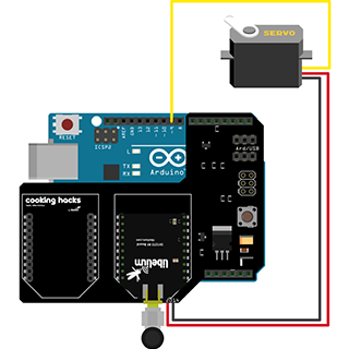 How to Remotely Control a Servo Using LoRa Extreme Range Connectivity Kit