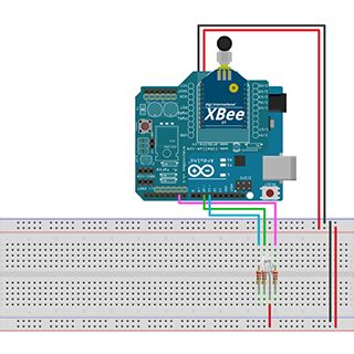 How to Remotely Control an RGB LED Using XBee Connectivity Kit