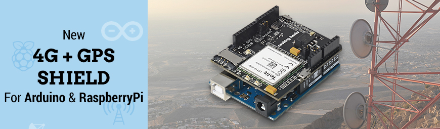 Choosing the right cellular module for Arduino and Raspberry Pi: 4G / 3G / GPRS / GSM